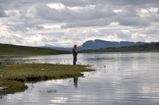 Lennart fiskar Stekenjokk-15