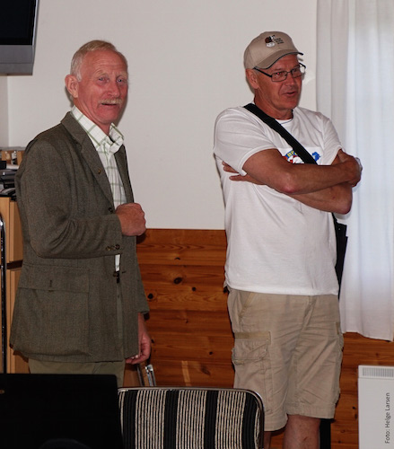 Erik Ringaby och Lennart Berglund. (Foto Helge Larsen)